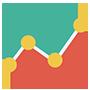 График быстродействия хостинга Cloud4box